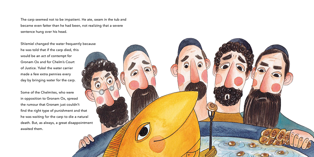 The Wise Men of Chelm and the Foolish Carp